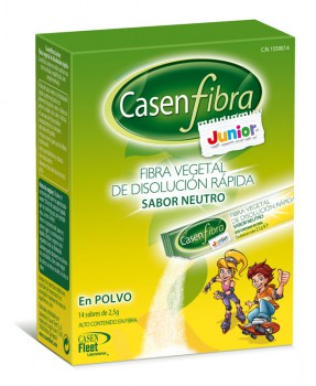 CASEN FIBRA JUNIOR, 14 STICK DE 5 ml.